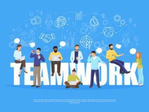 Veiksmingas komandos darbas - bendradarbiavimas
